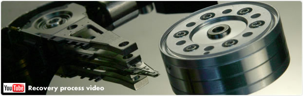 Data recovery process video