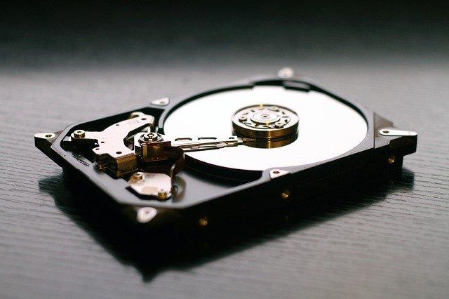 שמירה על דיסק קשיח